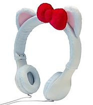 Emio Mix-Monsters Headphones White Kitten