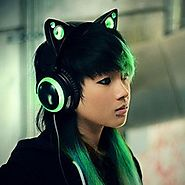 Cat Ear Shaped Headphones Powered by RebelMouse