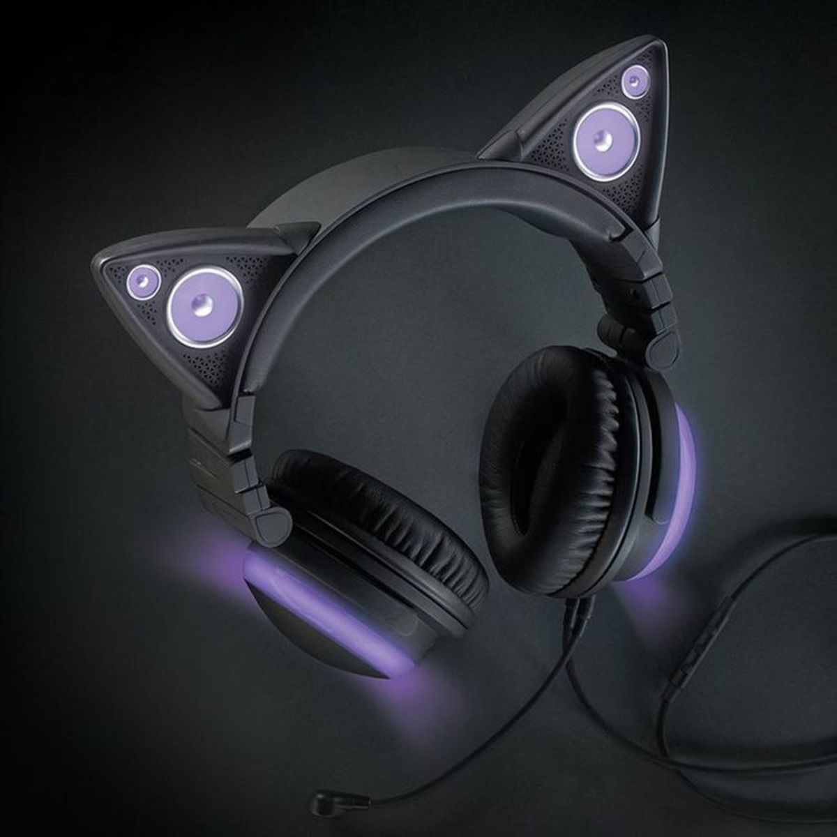 Headline for Cat Ear Shaped Headphones