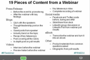 Turning Webinars into Real-Time Content & Market Intel