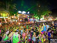 Full Moon Party - Haad Rin Beach, Koh Phangan, Thailand