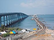 Pamban Road Bridge and Rail Bridge