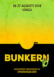 BUNKERN16, 26th – 27th august 2016