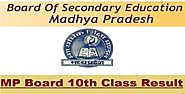 MP Board 10th Result 2016