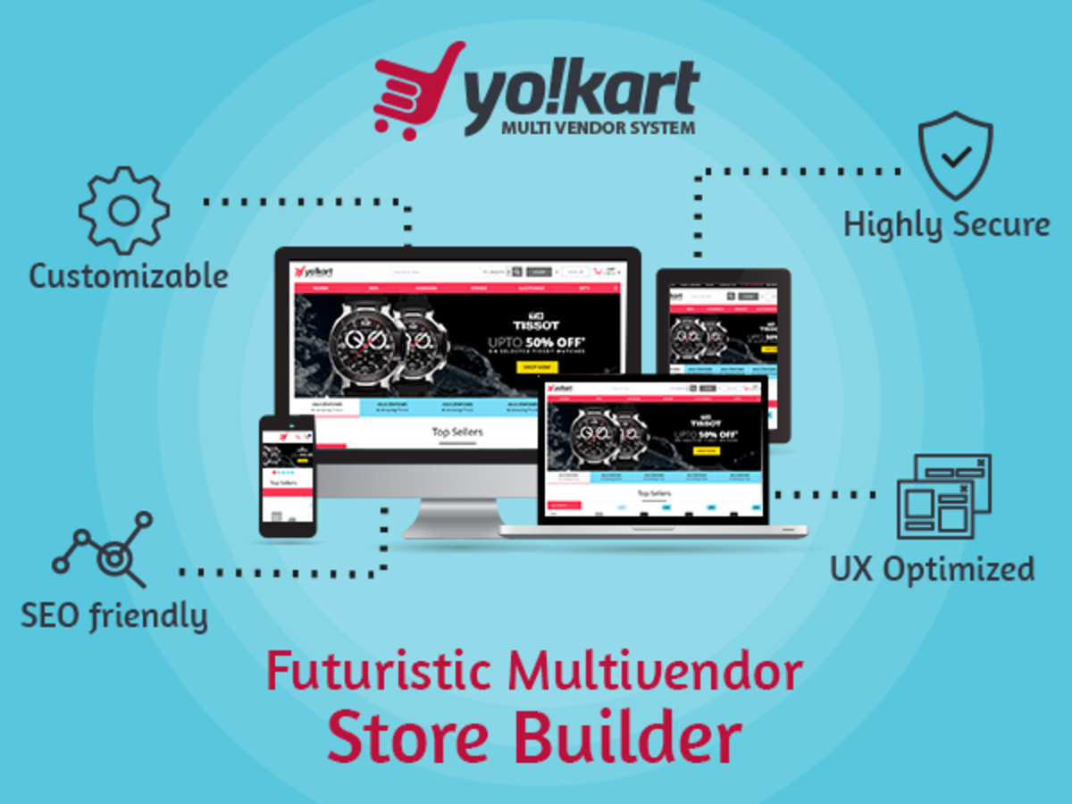 Headline for YoKart - Multi-vendor eCommerce Platform - Review, Features, News & Business Idea