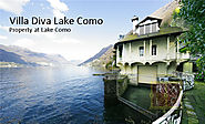 Lake Como Luxury Property of the Week: Villa Diva Waterfront Villa for Sale - Real Estate Services Lake Como
