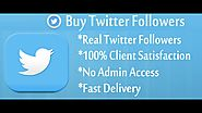 Buy Cheap Twitter Followers UK