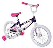 "Dynacraft Magna Starburst 16"" Girl's Bike (Ages 5 to 8)"
