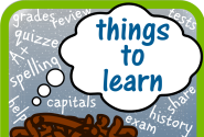 Things to Learn - Spelling, Quizzes and more