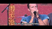 Coldplay - Amazing Day LIVE LETRA ESPAÑOL[LYRICS]2015