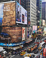 Watch People Climb Toyota and Saatchi's Insane RAV4 Rock Wall in Times Square