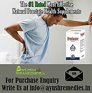 Ayurvedic Remedies For Prostate Problems In Men By AyushRemedies.in