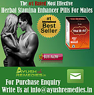 Ayurvedic Stamina Enhancer Pills For Males By AyushRemedies.in