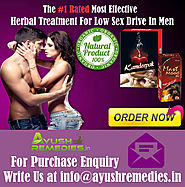Ayurvedic Ways To Improve Sex Drive In Men By AyushRemedies.in