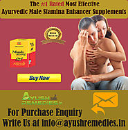 Ayurvedic Male Stamina Enhancer Supplements By AyushRemedies.in