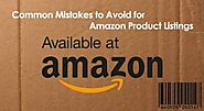 Common Mistakes to Avoid for Amazon Product Listings | AuroIN