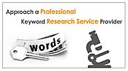 Approach a Professional Keyword Research Service Provider | AuroIN