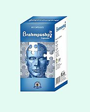 Herbal Brain Enhancement Pills Supplements, Brahmpushpi Capsules
