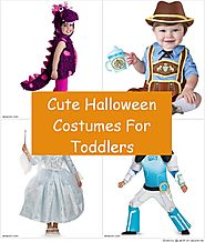 Cute Halloween Costumes For Toddlers