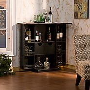 Fold Away Liquor Cabinet and Bar