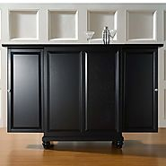 Cambridge Expandable Home Bar Liquor Cabinet