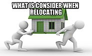 What To Consider When Relocating | CBD Movers Perth