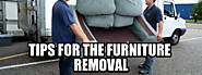 Tips for the Furniture Removal