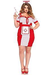 Top 5 Sexy Plus Size Nurse Costumes 2016 - HalloweenDivas.com