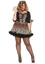 Sexy Plus Size Cat Costumes - HalloweenDivas.com