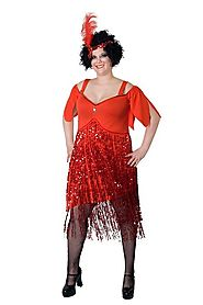 Sexy Plus Size Flapper Costumes - HalloweenDivas.com
