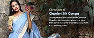 Handloom Chanderi Silk Cotton Sarees for Online Shopping