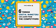 Do you know what digital marketers learn from competitors?