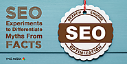 Differentiating myths from facts using SEO