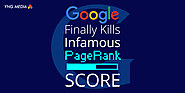 Page Rank Score Finally Eliminated By Google