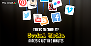 Know the tricks to complete social media analysis