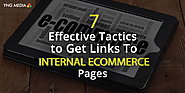 Tactics to get links to internal ecommerce pages