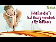 Herbal Remedies To Treat Bleeding Hemorrhoids In Men And Women