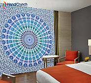 Tantalizing Tie Dye Tapestry headboard - Handicrunch