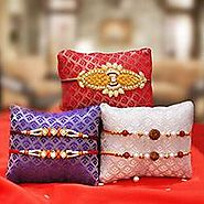 Buy & Send Rakhi online @ Handicrunch