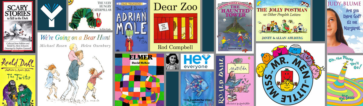 Headline for Child of the 80's? 15 Books You'll Definitely Recognise!!
