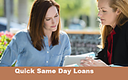Same Day Quick Loans - Easily Solve Your Unavoidable Assessment With No Credit Check Facility