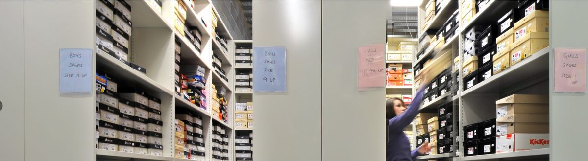 Headline for 5 Reasons Why Mobile Shelving Will Improve your Workplace