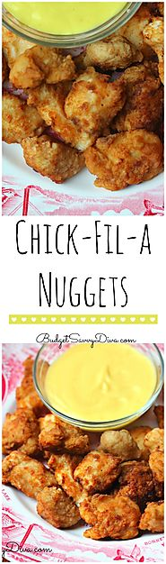 Copy Cat Recipe – Chick – Fil – A Nuggets Recipe