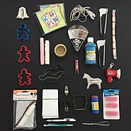 "Minimalist game day 15. 15 items each 30 items total. Featured item stuffed The Pie Lifter. ""I need a piece of pie wh..."
