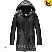 CWMALLS® Designer Hooded Trench Coat CW806103