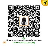 CWMALLS® Denver Men's Leather Down Coat CW890001