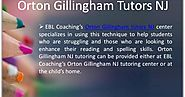 Top Orton Gillingham Tutors in NJ