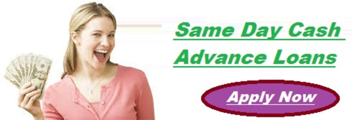 Headline for Same Day Cash Advance Loans