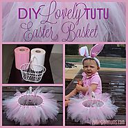 Easy DIY Tutu Basket