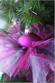 Hand Made Gifts: Tutu Ornaments